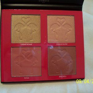 SHAINA B MIAMI BLUSH & HILIGHT PALETTE NEW